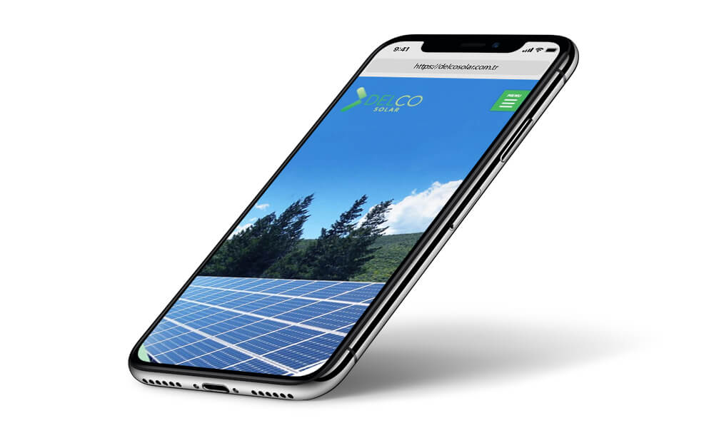 Delco Solar iPhone