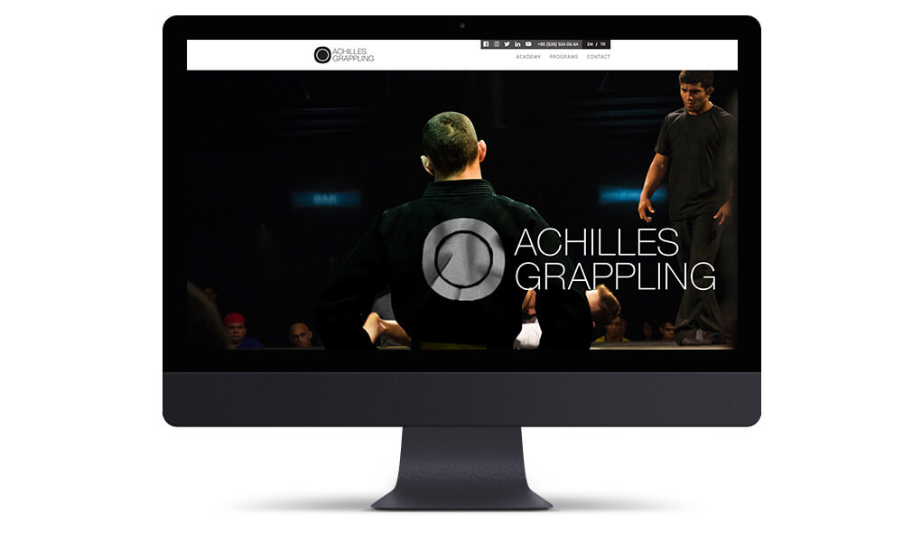 ACHILLES GREPPLING Website